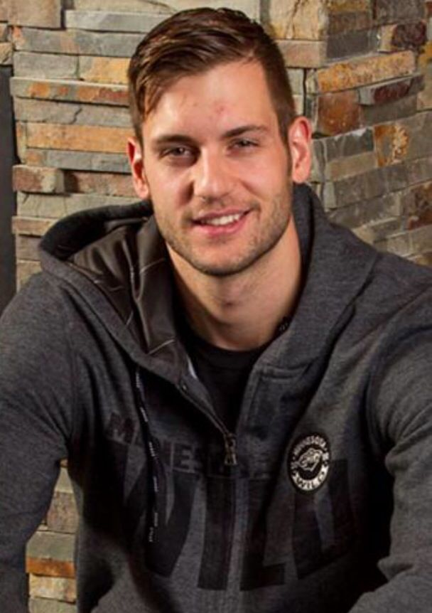Marco Scandella a pro hockey player for the Minnesota Wild