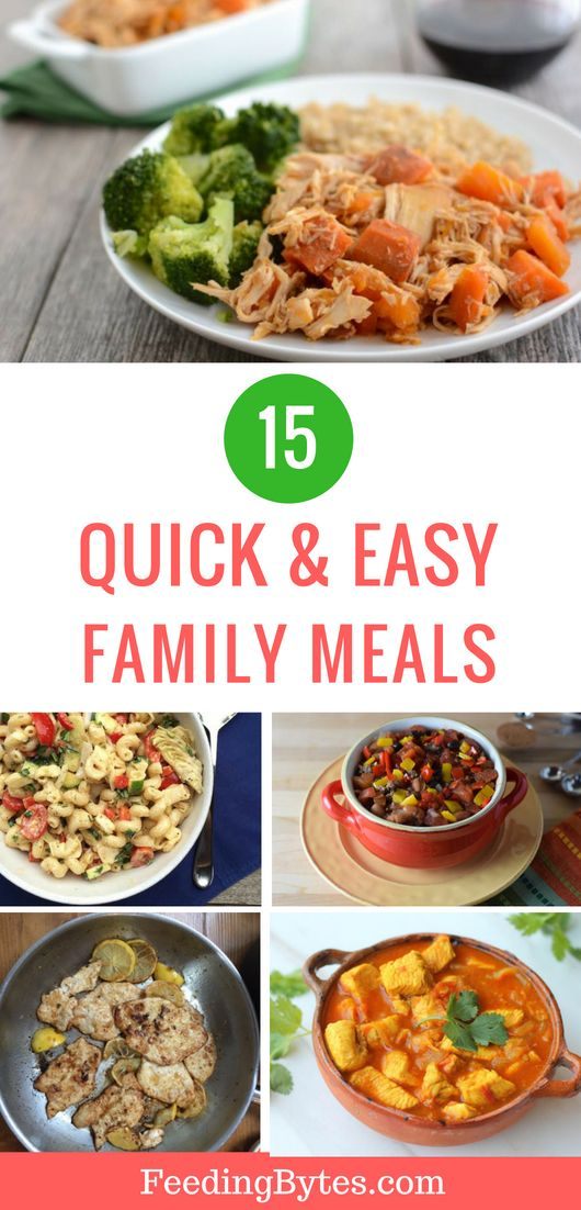 15 Quick and Easy Family Meals images