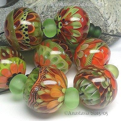 ANASTASIA-handmade-lampwork-beads-7-SUMMER-GARDEN-SRA