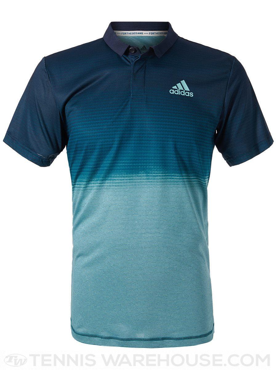 c94e0cff2f9ab adidas Men's Spring Parley Polo in 2019 | Men's Tennis Wear ...