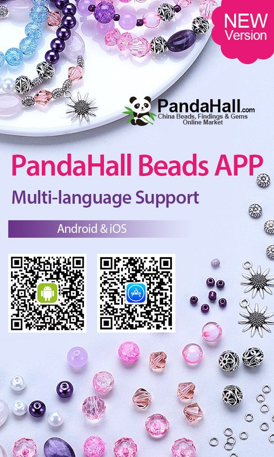PandaHall Beads APP 10 OFF for First Order over 139 on