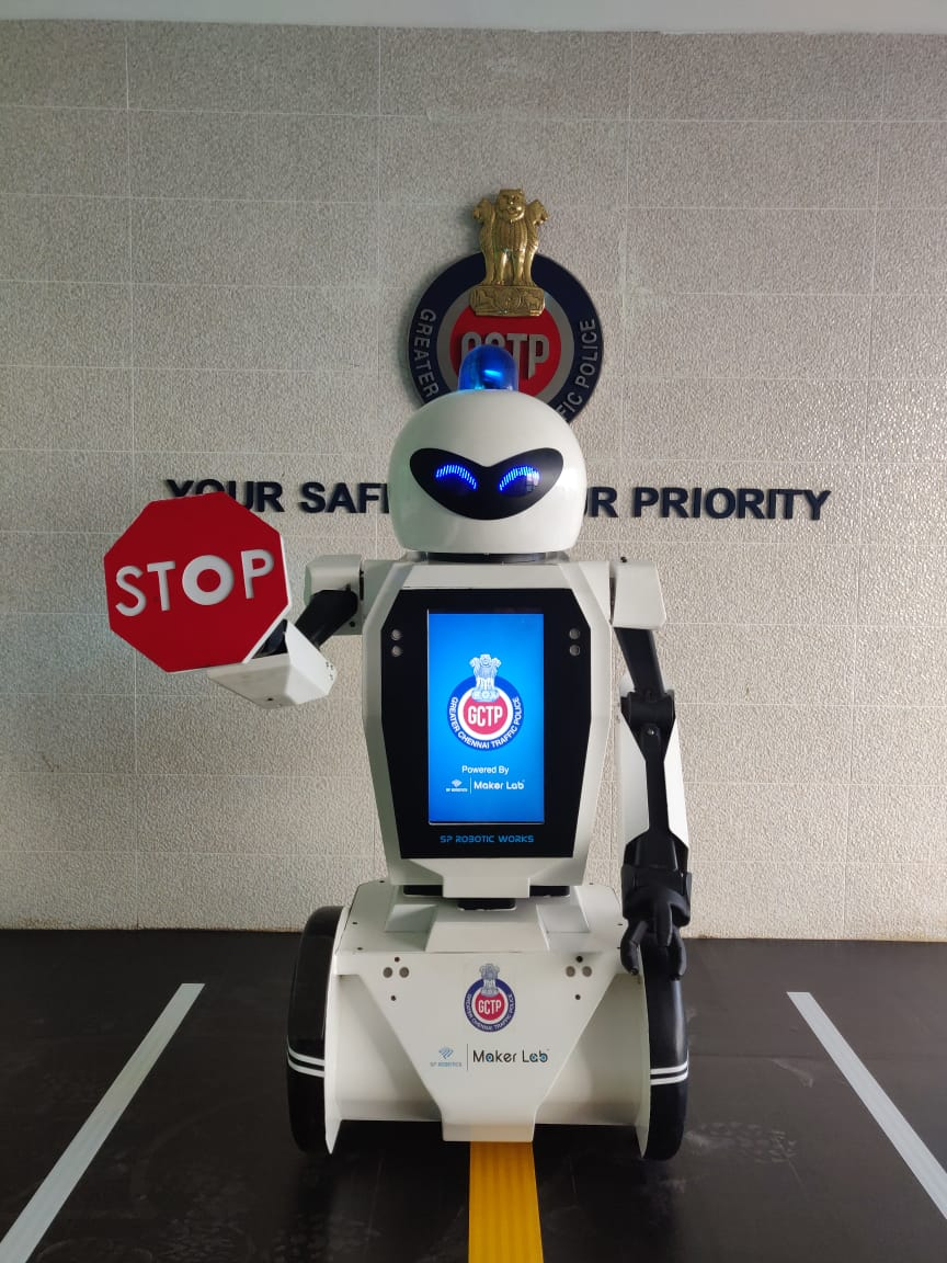 Indian City to Get Robotic Traffic Cop in 2019 Robot