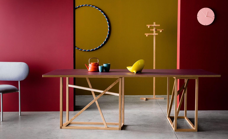 London Design Festival 2019 Trestle dining tables