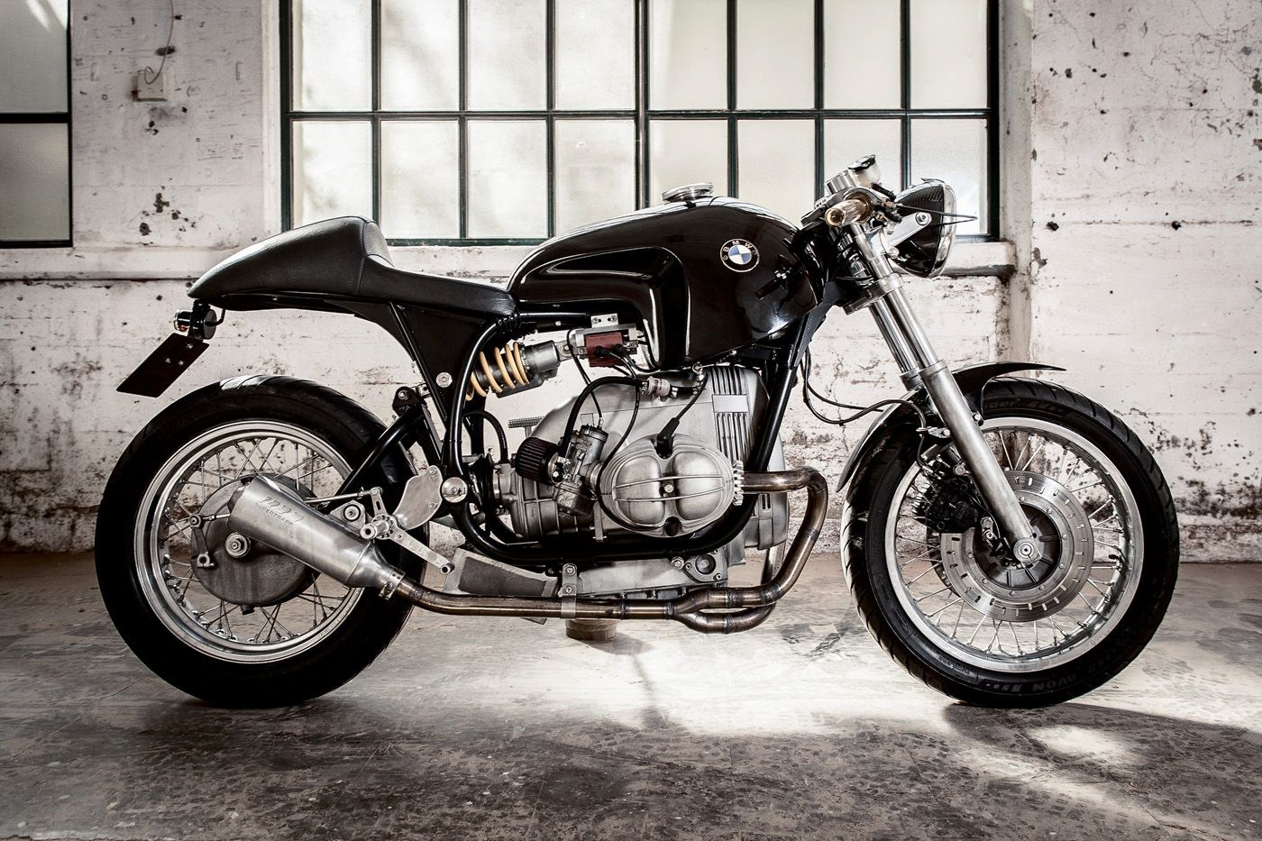 "1980 R100T BMW ""Manta"" from Sette Nero Motorcycles"