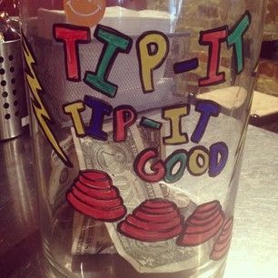 head-bopper. This head-bopper. | 27 Tip Jars That Are Too Clever To ResistThis head-bopper. | 27 Tip Jars That Are Too Clever To Resist