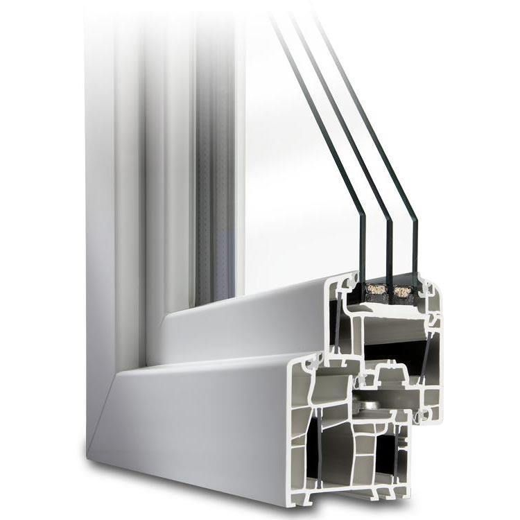 Parallel-Schiebe-Kipp-Tür aus Kunststoff - Profil Energeto 5000