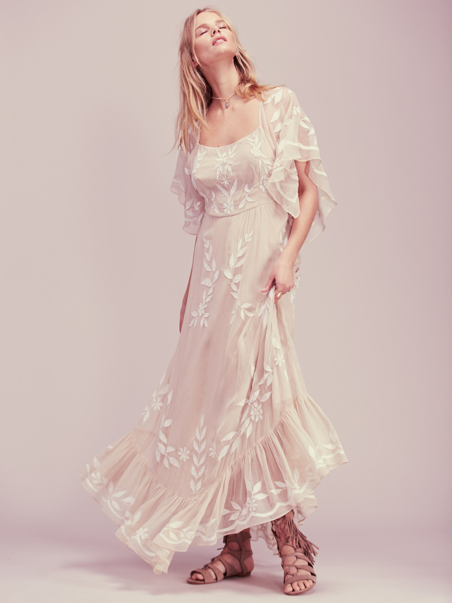 Enchanted forest maxi dress this ethereal maxi dress was made for