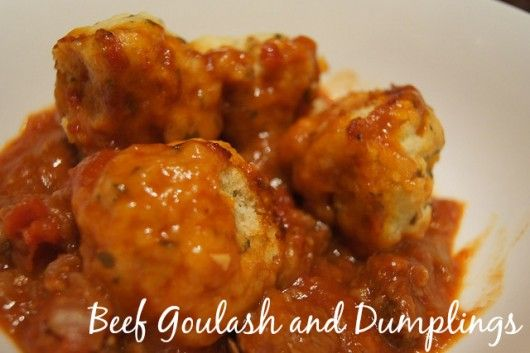 Beef Goulash And Dumplings Slow Cooker Recipes Beef Goulash Cooker Recipes