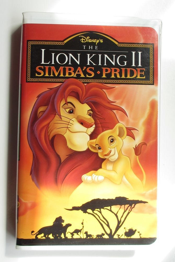 the lion king ii  simba u0026 39 s pride  vhs  1998