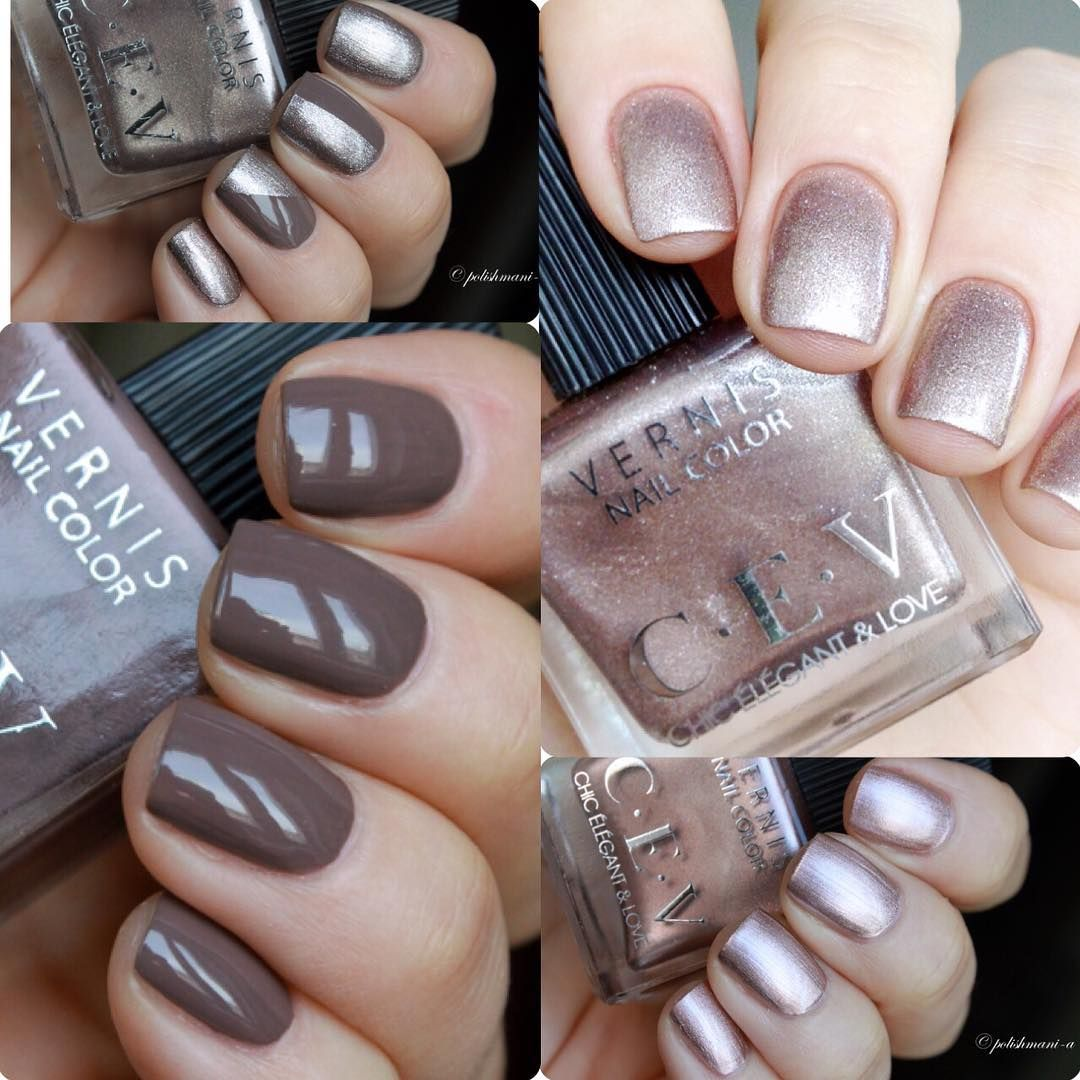 D4zzling me lee hi rose inspired nail - Cev Chic Elegant Love Mocha For Your Nails Photo Swatch