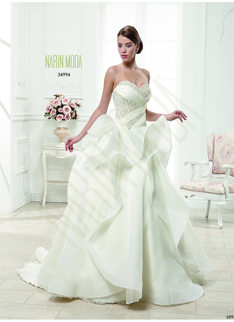 207f304593e6b Narin Moda 2014 Gelinlik Model 34994 | www.narinmoda.com | @Narin Moda
