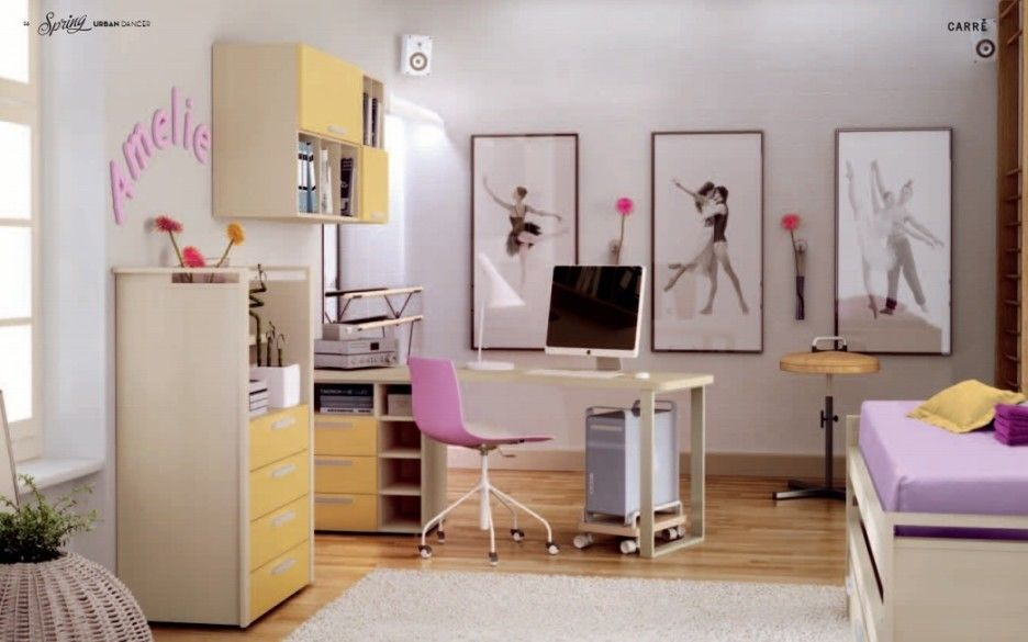 Cool Teenage Bedroom Furniture: Dancing Theme Kids Room ~ Bidycandy.com  Teens Bedroom Inspiration
