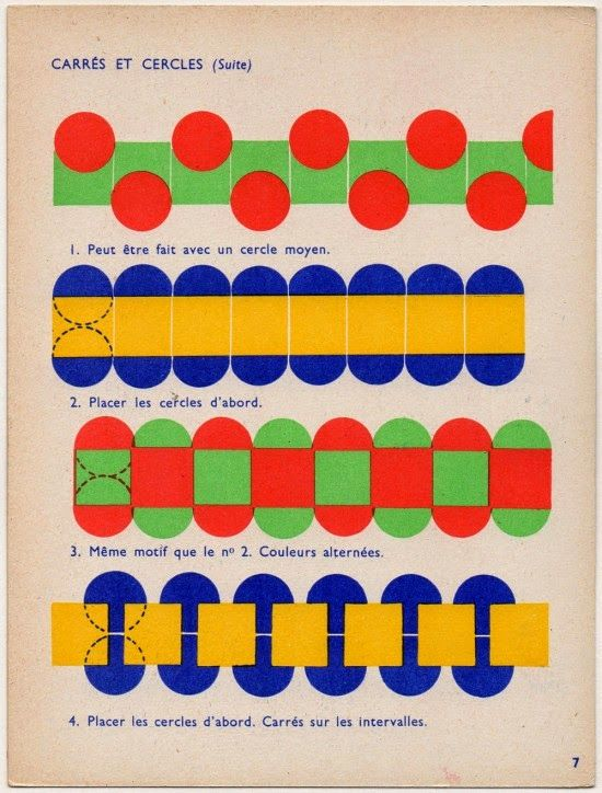 Padrões geométricos: estudos