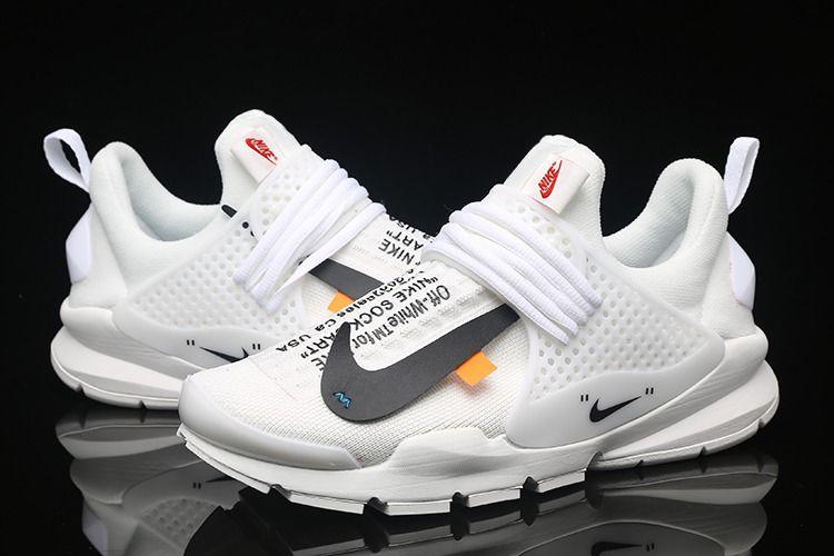 Off White x Nike Sock Dart White