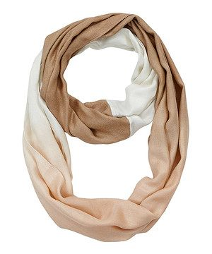 Another great find on #zulily! Sand Ombré Infinity Scarf by Bella Taylor #zulilyfinds
