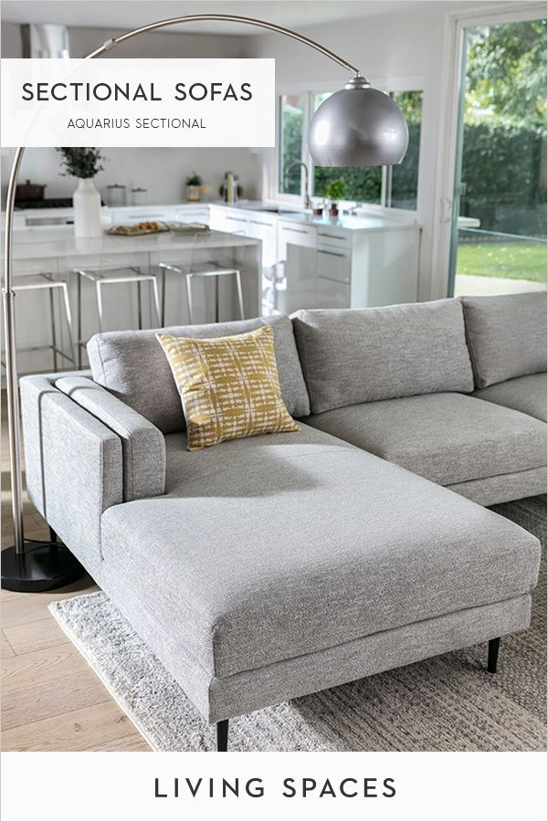 Modern Sectional Sofas Chaise Sectionals With Images Grey