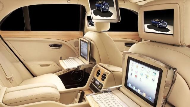 new luxury car releasesVIDEO Luxury Car Bentley Releases New Model with a Built In