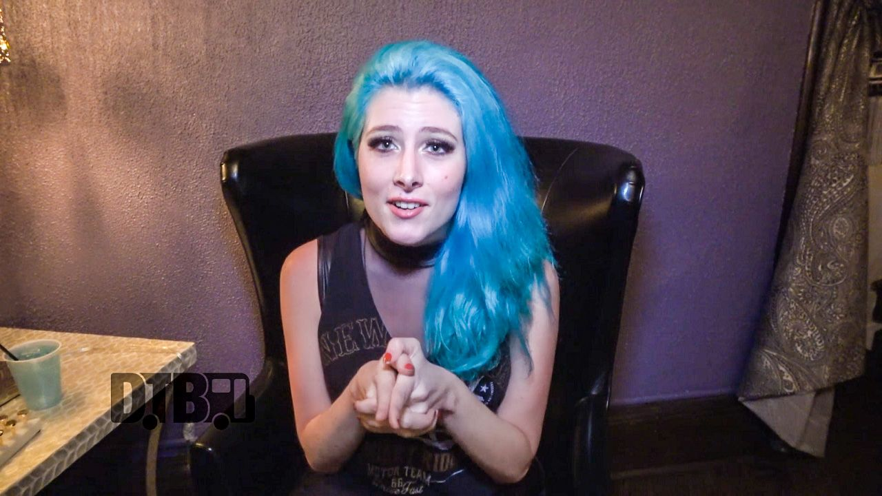 """On this episode of DTB's """"Tour Tips (Top 5)"""", the rock singer, Diamante, recommends their tips for being on tour, while on tour with Steel Panther."""