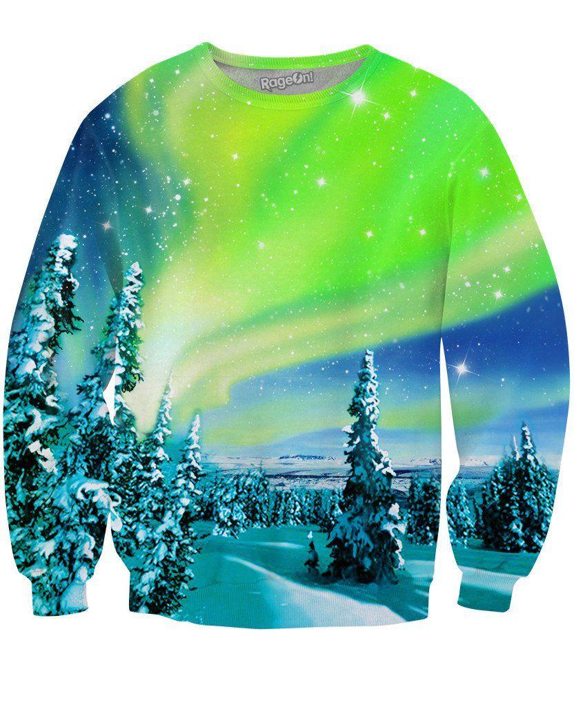 Arctic Nights Crewneck Sweatshirt