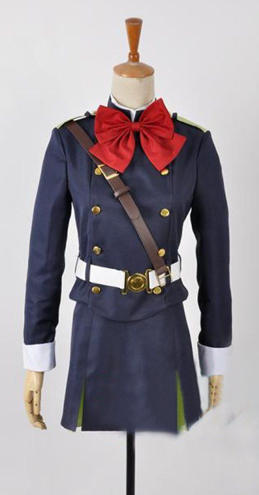 Camplayco Seraph of the End Sangu Mitsuba Cosplay Costume *** Check this awesome product by going to the link at the image.