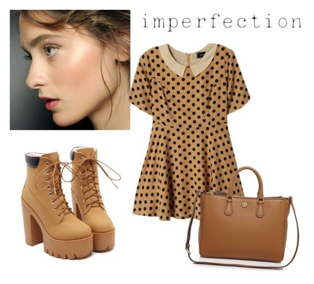 """""""her imperfections are perfect"""" by gb041112 ❤ liked on Polyvore featuring Astrid & Miyu and Tory Burch"""