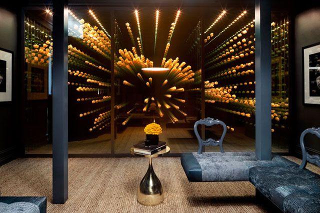 Twilight Room Infinity Mirror Design Lounge Design