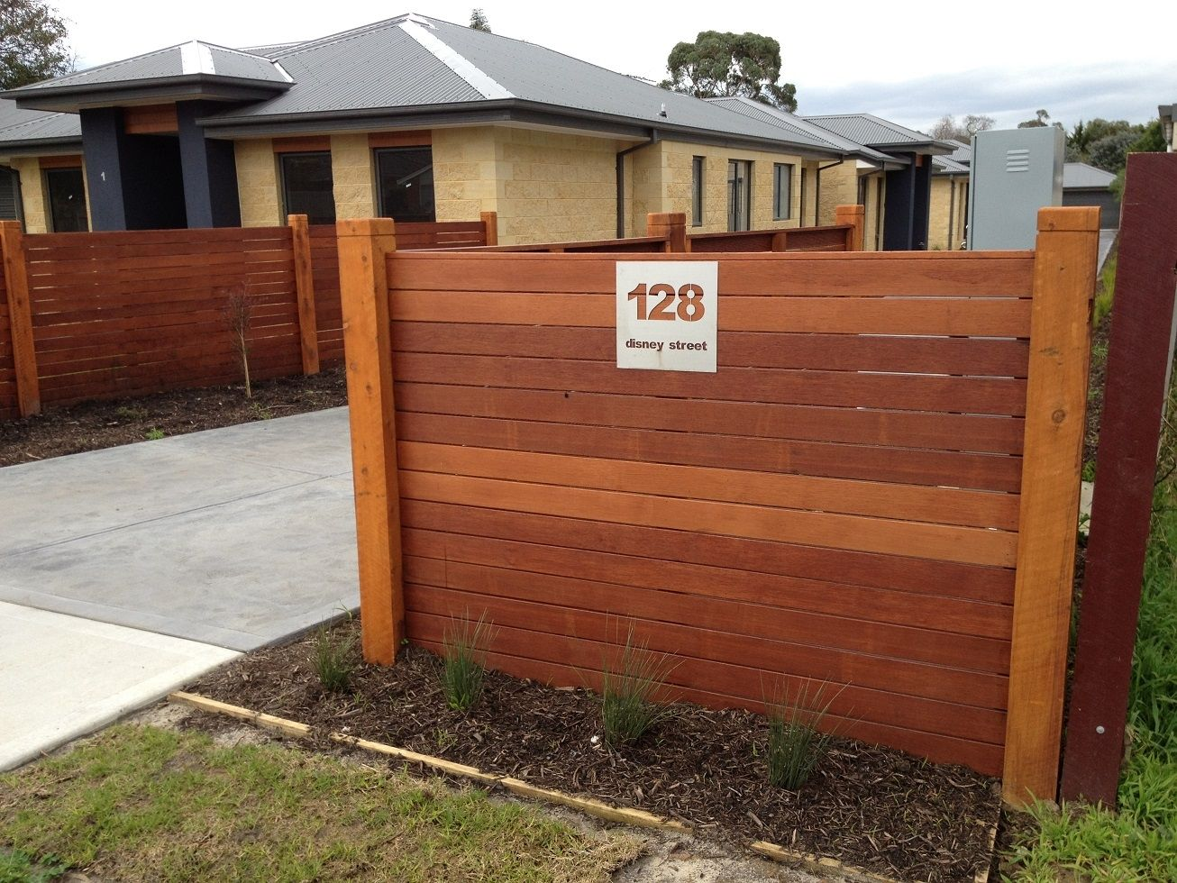 Horizontal fence design design patio pinterest timber fencing horizontal fence design design workwithnaturefo