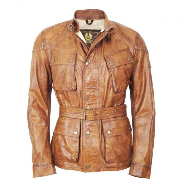 Belstaff motorcycle jacket Belstaff Centaur Leather Jacket antique cuero Men …