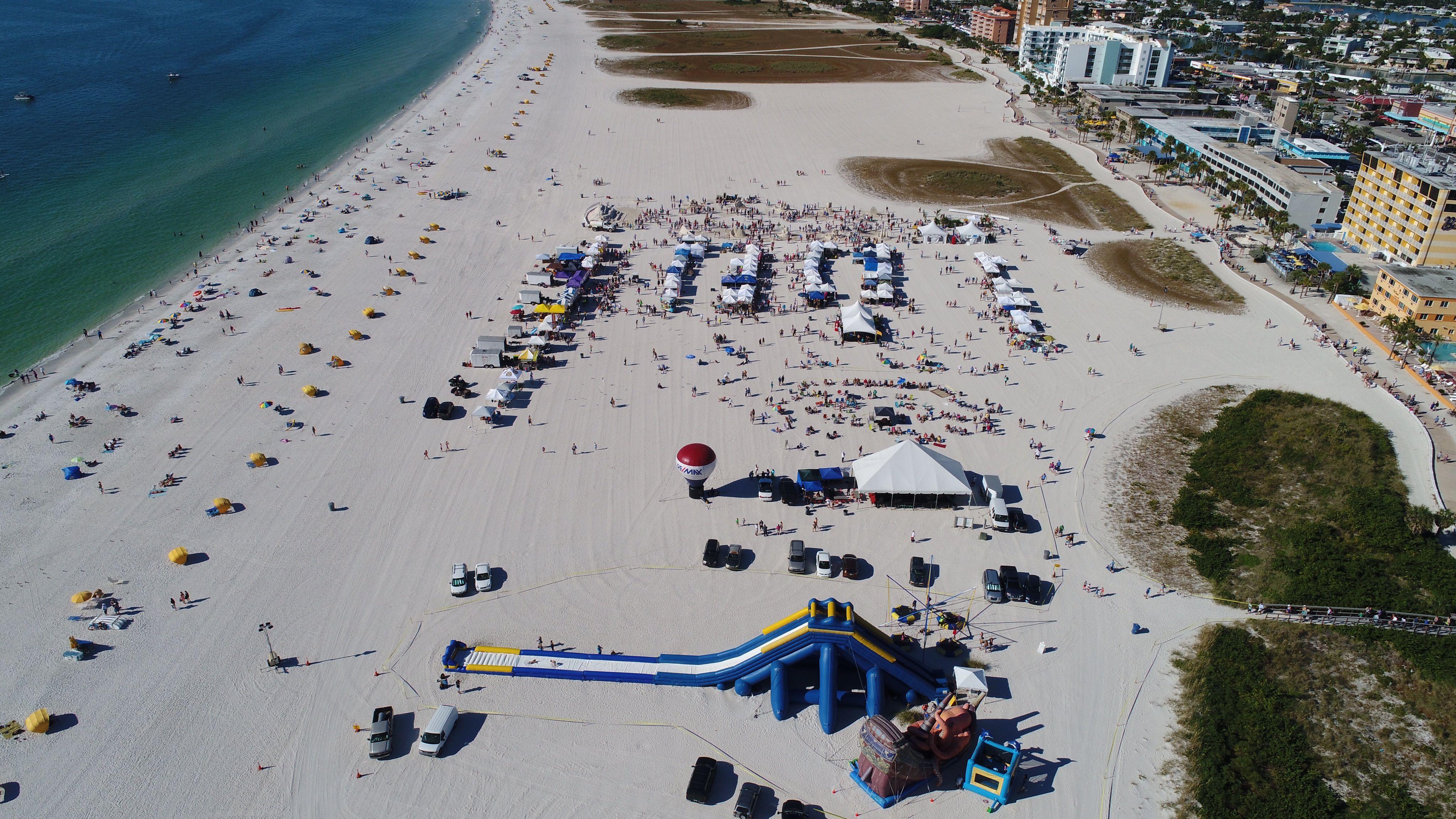 Amazing beach clearwaterbeach pier60 entertainment