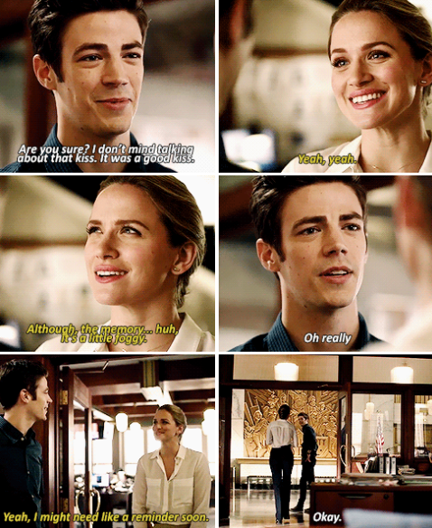 Theflash2x06 Ladies Take Notes Patty Spivot Has Game Barry Is Feelin