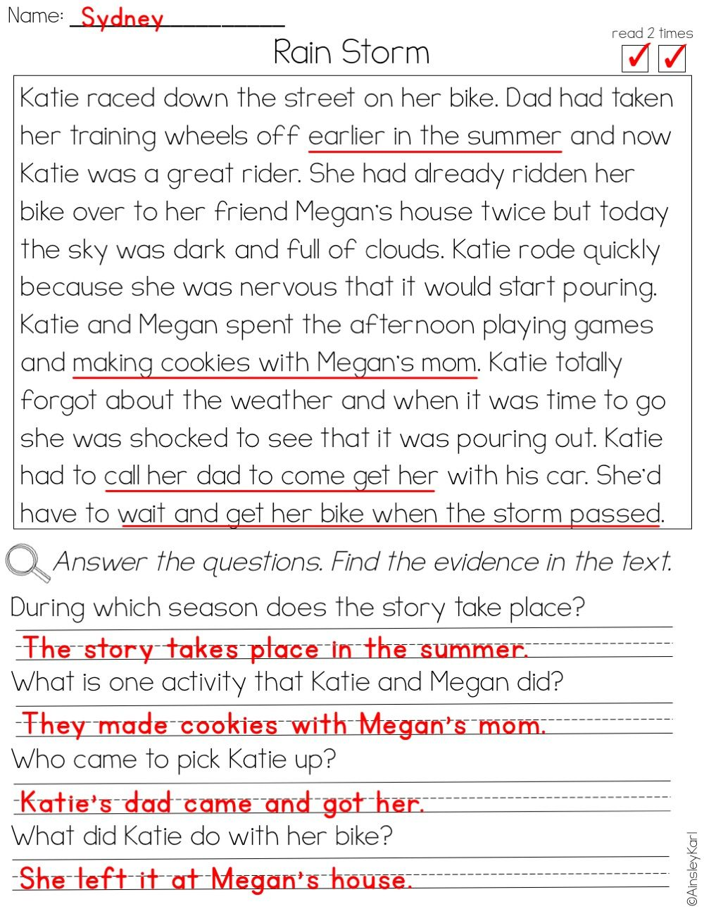 - Pin By Ainsley Karl On Reading Comprehension Phonics Reading
