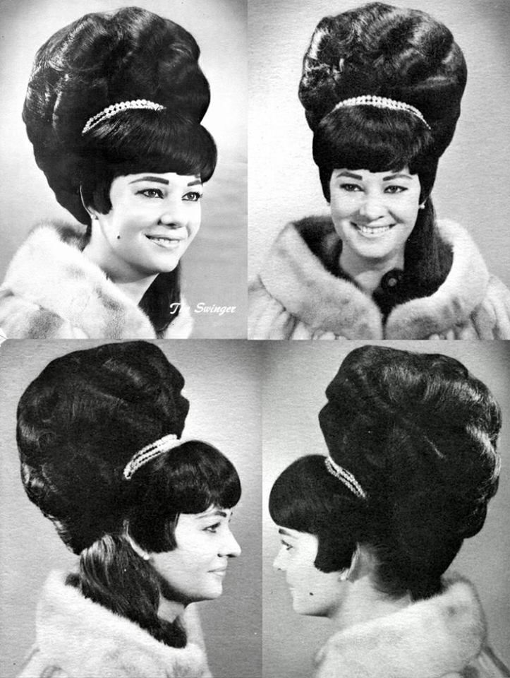 The Swiger Beehive, 1960s | images for salon | 1960s hair ...