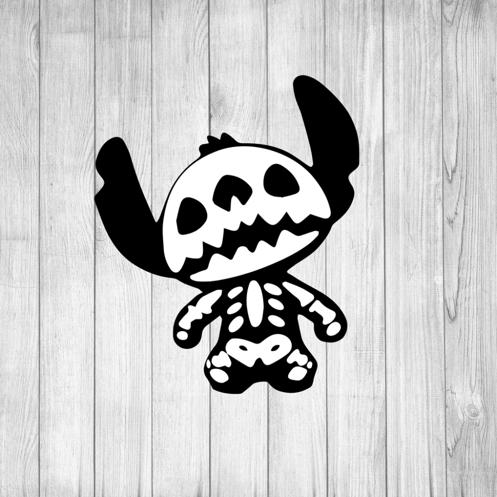 Stitch Skeleton svg, Stitch svg, Lilo and Stitch svg