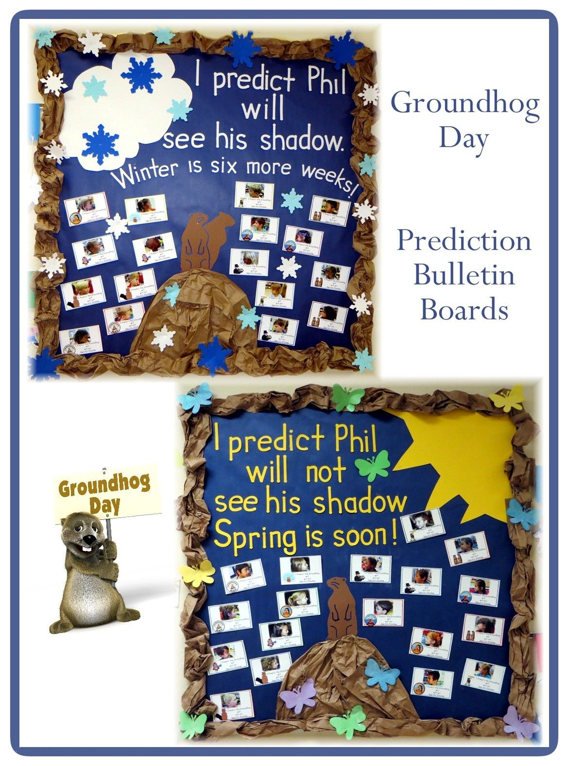 Groundhog Day Bulletin Boards Will See His Shadow Will