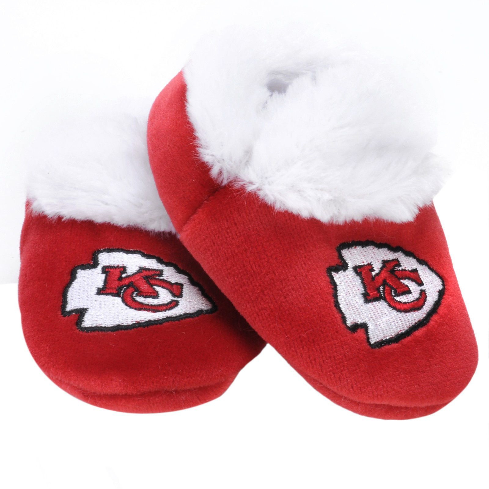 Kansas City Chiefs Logo Baby Booties Kaison Michael