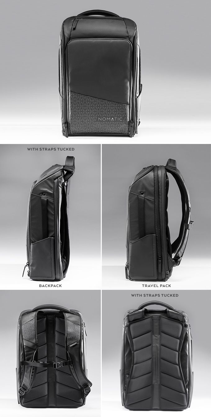 ba22ee832cdd The NOMATIC Backpack and Travel Pack by Jon Richards & Jacob Durham —  Kickstarter