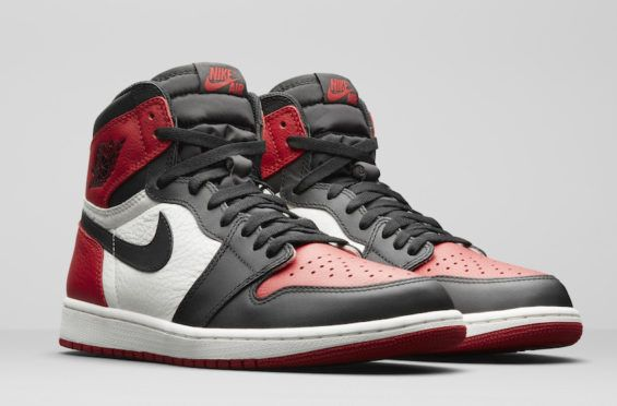 Official Images: Air Jordan 1 Retro High OG Bred Toe One of the most  anticipated Air Jordan retro releases in the early part of 2018 is the Air  Jordan 1 ...