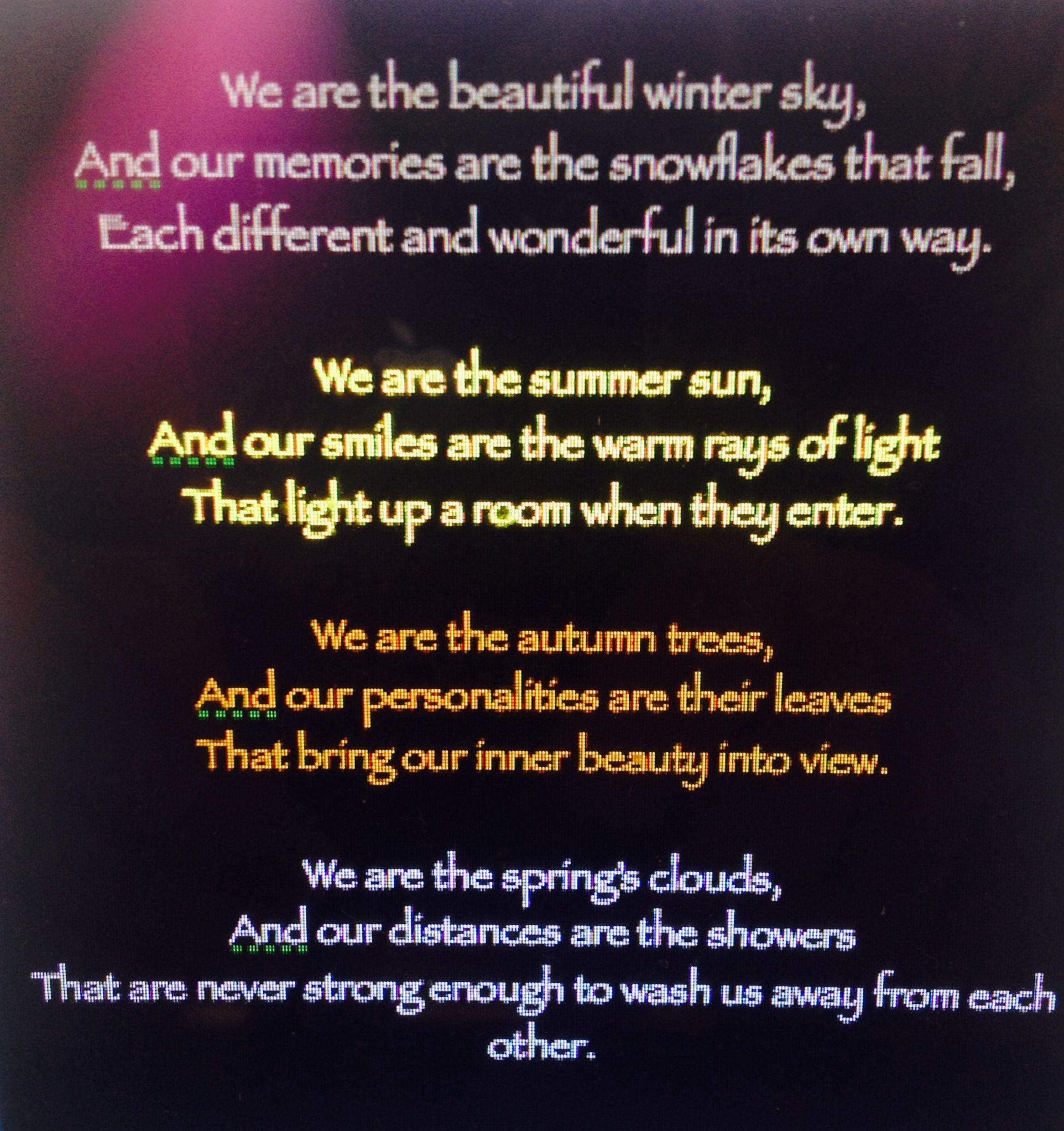 Seasons greetings by me unconventional poetry Poetry