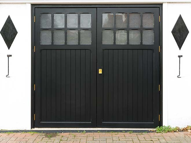 Image result for double garage door | Venues | Pinterest | Side ...