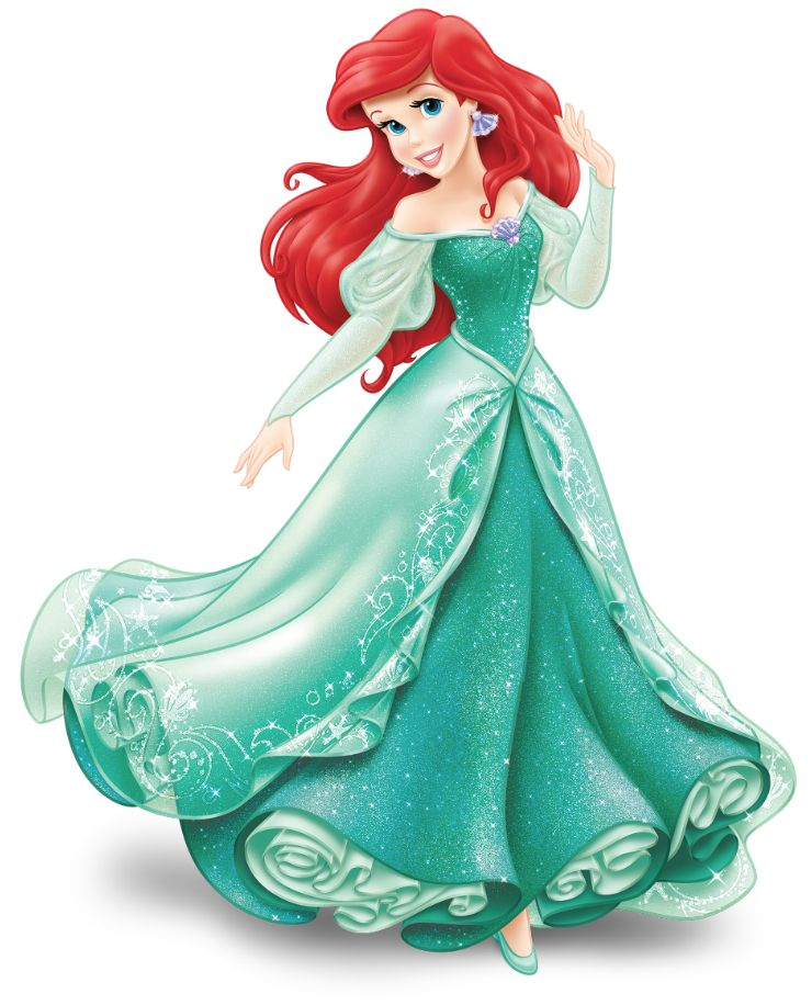 Disney Princess Gallery Slideshow: Ariel/The Little Mermaid Printables
