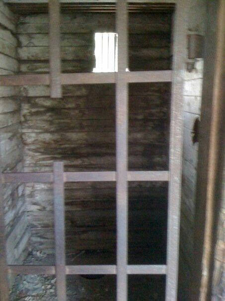 Dodge City's original jail.