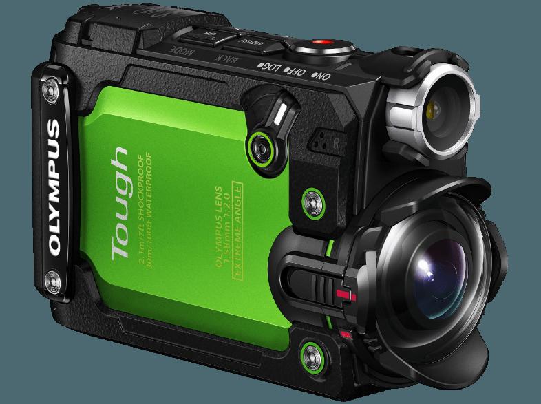OLYMPUS Olympus TG-Tracker Actionkamera - Grün Action Cam 4K , WLAN