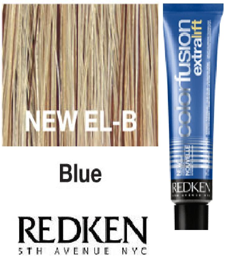 Redken Color Fusion Extra Lift Blue El B Redken Redken Color Hair Foils