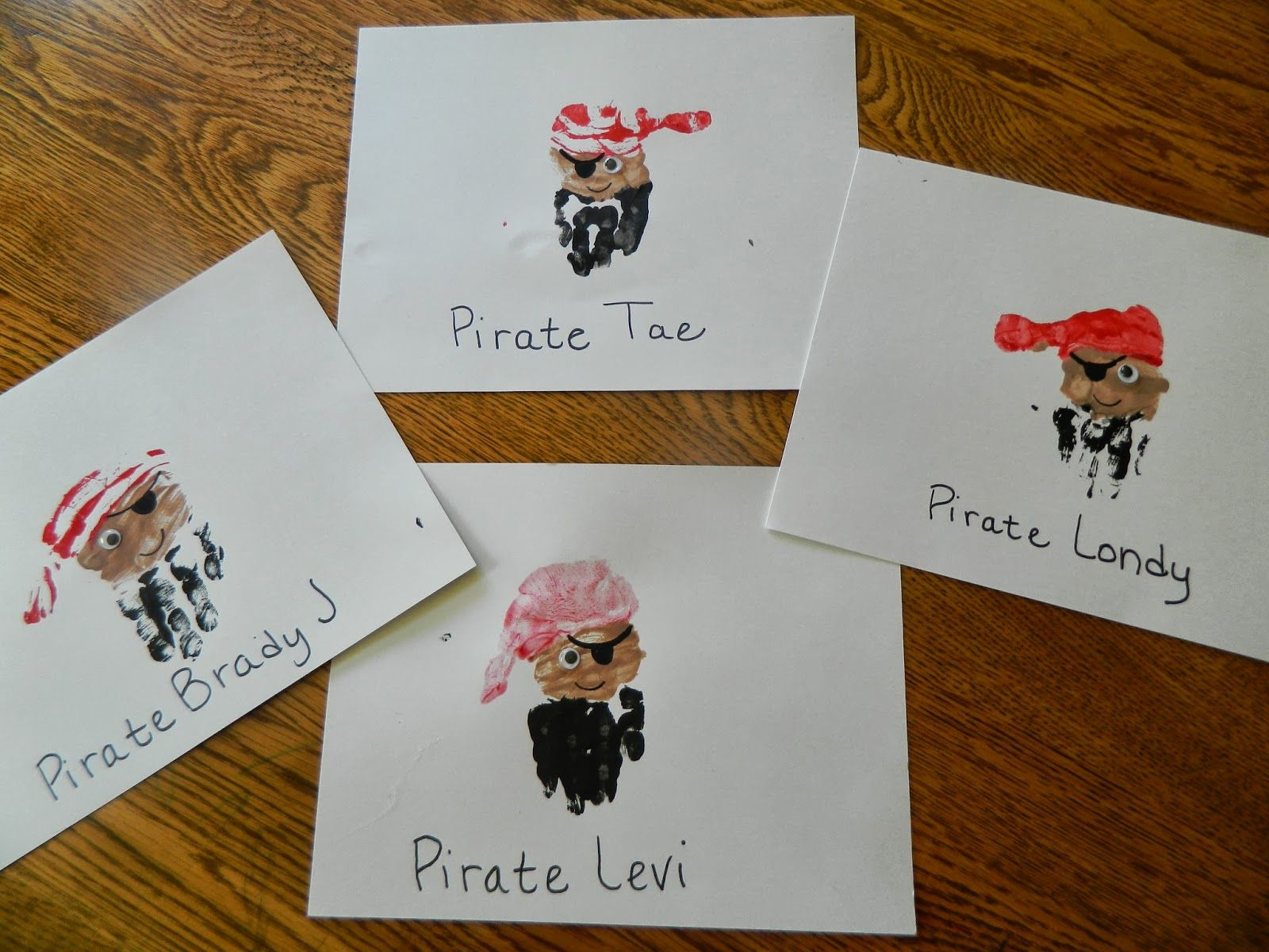 Handprint Pirates How I Became A Pirate