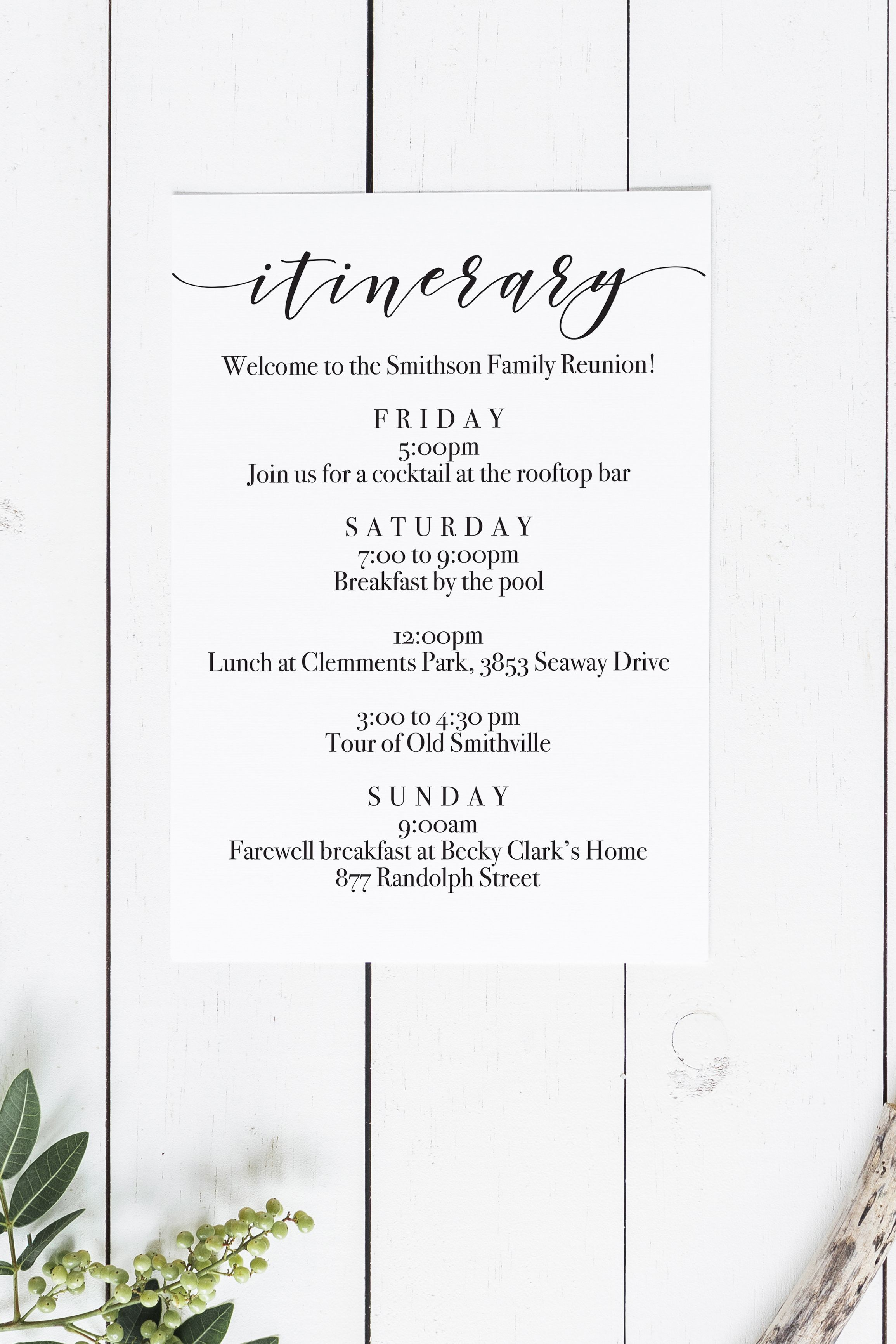 Printable Itinerary Free Download Free Wedding Printables Bachelorette Weekend Itinerary Bachelorette Party Itinerary