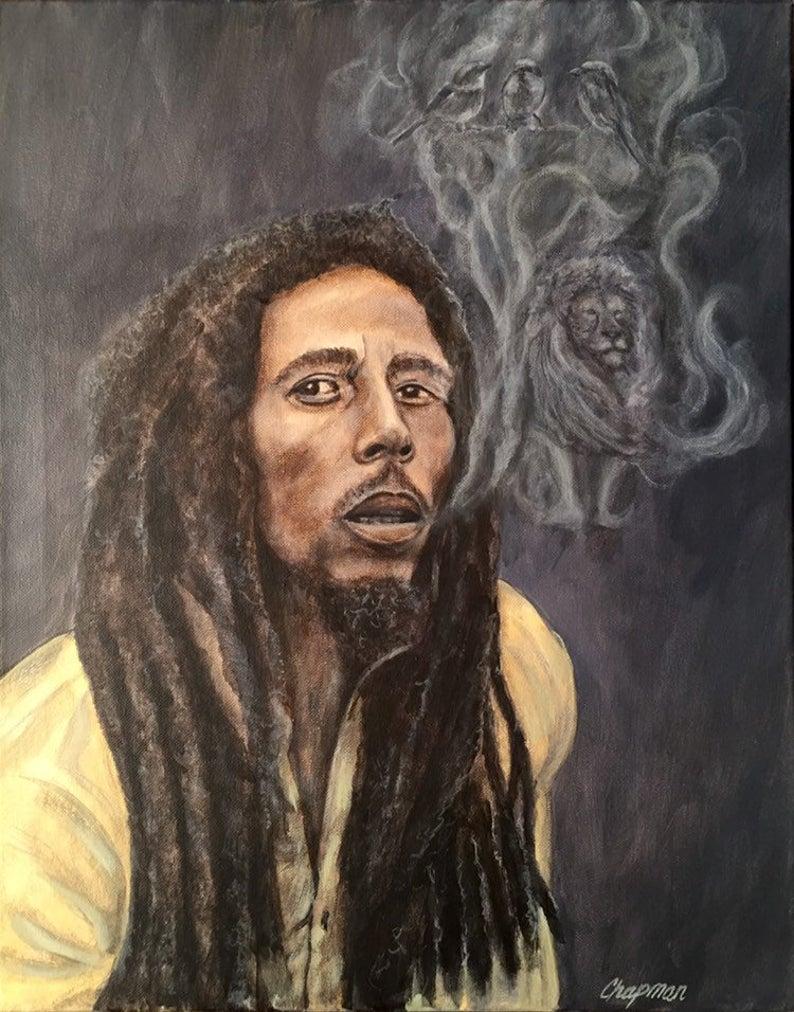 Pin En Bob Marley