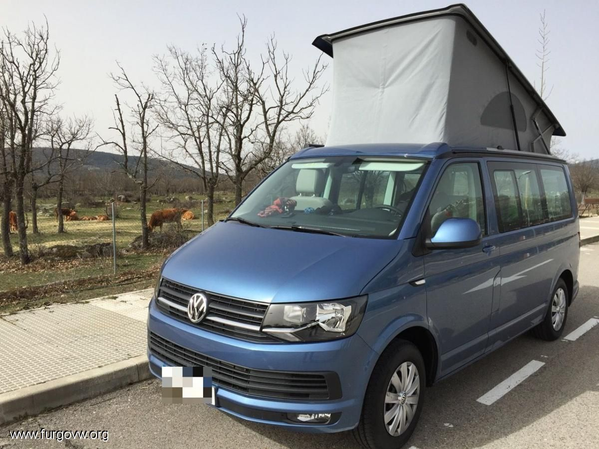 vw t6 california beach acapulco blue 150cv vw campers. Black Bedroom Furniture Sets. Home Design Ideas