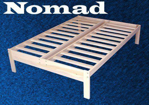 Nomad Solid Hardwood Platform Bed Frame Multiple Sizes Solid Wood Platform Bed Wood Platform Bed Platform Bed Frame Full