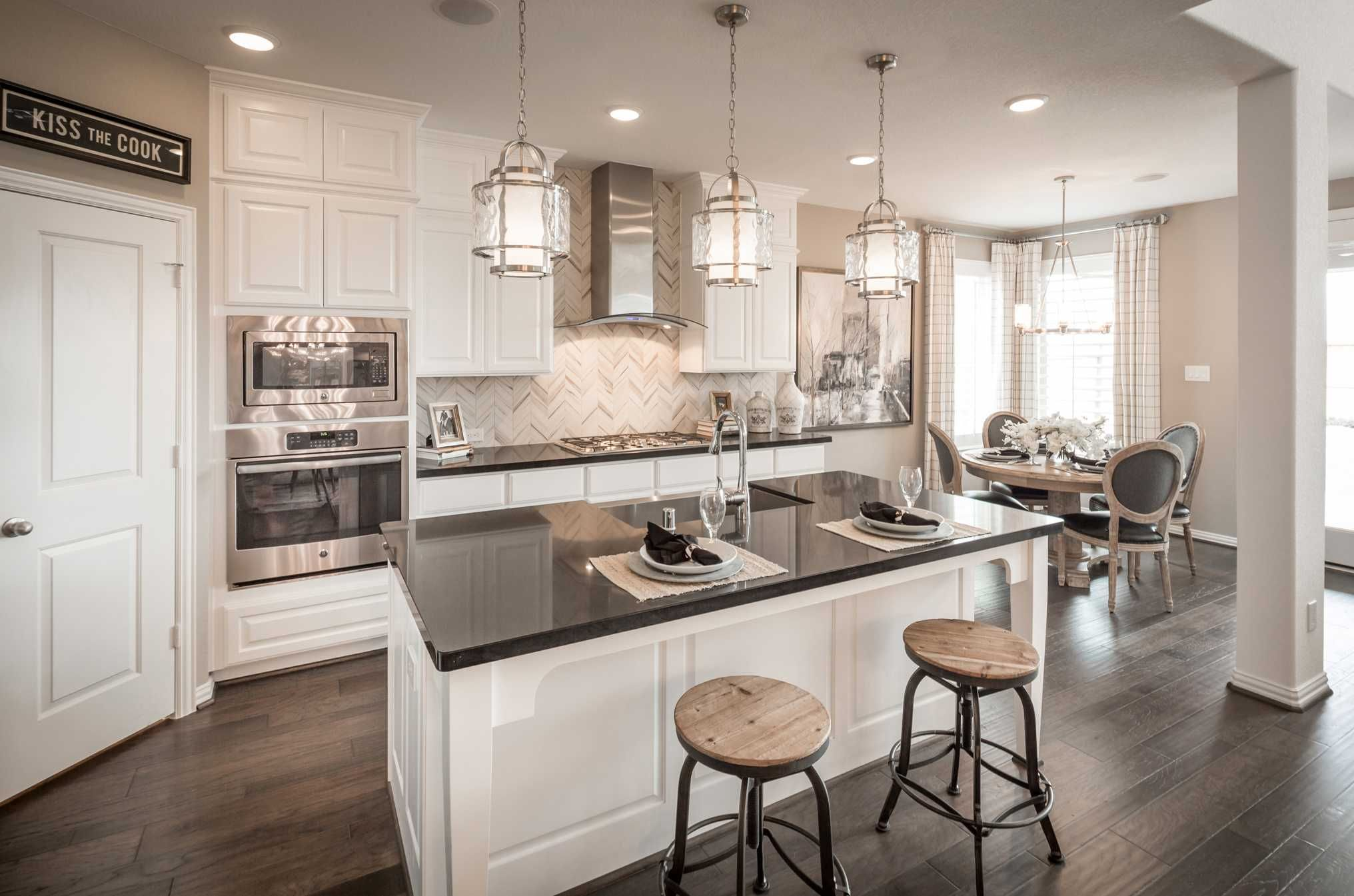 Kitchen Design Houston Beauteous Highland Homes Plan 559H Model Home In Houston Texas Cross Creek Design Decoration