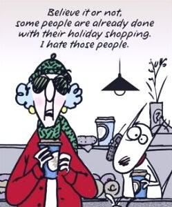 Christmas Maxine Shopping Done Holiday Merry Gifts Gift Lol Funny Laughs Laughing Cartoon Christmas Shopping Humor Maxine Christmas Humor